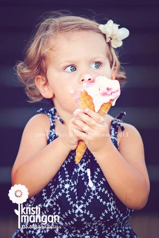 Jupiter child photographer_ice cream